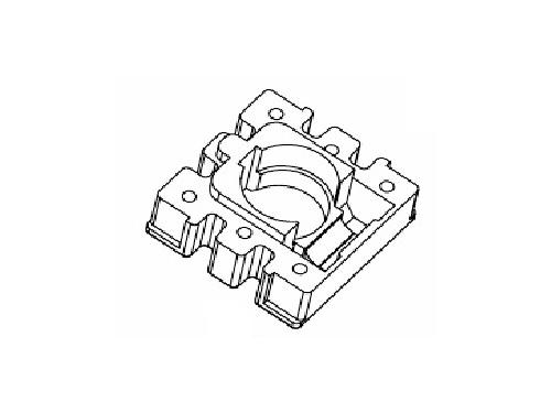 磁環底座 基座 電感底座 BASE 10×10 變壓器骨架,貼片式骨架 BASE YT-001?